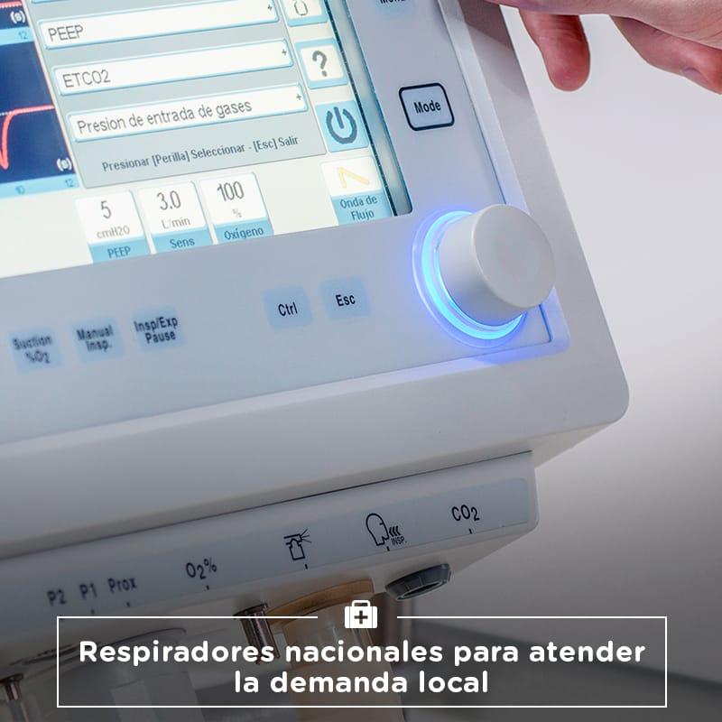 Respiradores para la demanda